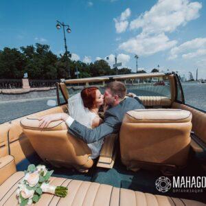 Украшение машин на свадьбу