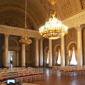 Мраморный Дворец. Белоколонный зал