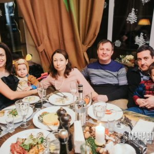 Новый Год в ресторане Шишкин
