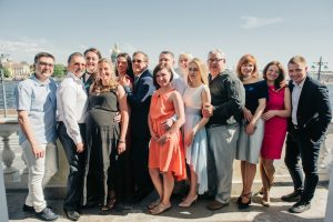 Юбилей 50 лет в ресторане Беллини