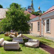 Парадный павильон Инженерного дома Петропавловской крепости