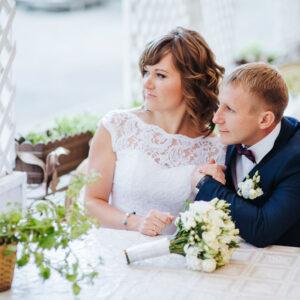 Свадьба в ресторане Дача