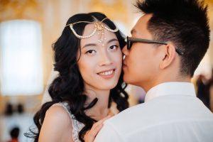 Свадьба для пары из Китая