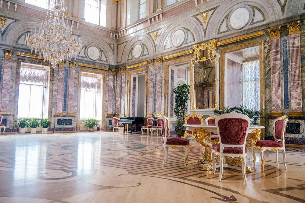Свадьба во Мраморном дворце