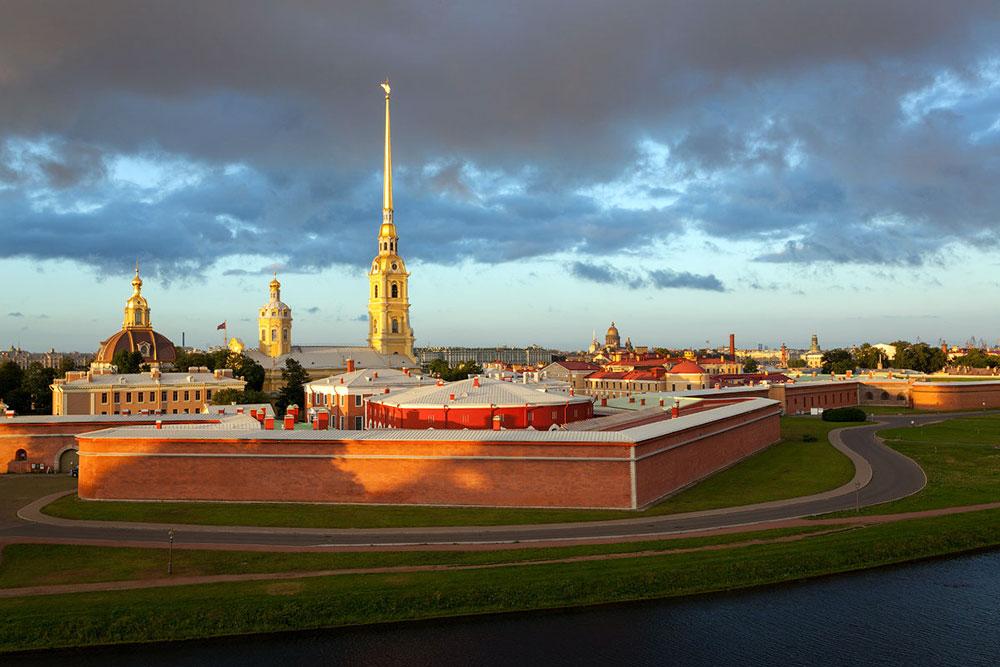 Свадьба на Петропавловской крепости