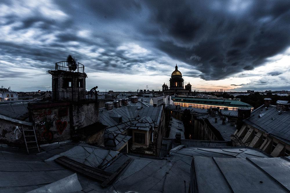 Свадьба на крышах Санкт-Петебурга